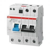 Residual current circuit breakers for heating cables