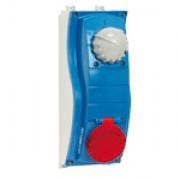 Розеткa с блокировкой и выключателем