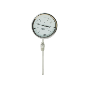 Bimetal industrial thermometer