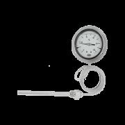 Įstatomas pramoninis dujinis termometras