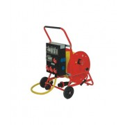 Cable extension reel (painted steel)
