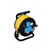 Cable extension reel (solid rubber)