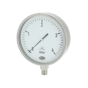 Industrial capsule pressure gauges