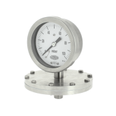 Industrial diaphragm pressure gauges