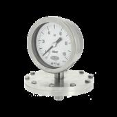 Industrial diaphragm pressure gauges