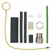 Šildymo kabelio sujungimas / užbaigimas