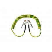 Spiralinis įžeminimo kabelis agresyvioms aplinkoms