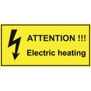 Electric trace heating